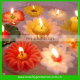 Scented flower shape floating candles