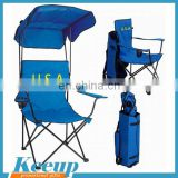 Most fashion Top quality cheap folding beach chair with sunshade for sale