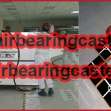 Air bearings casters applied on nuclear power station
