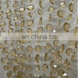 Champagne Large Diamond Cut Doorway Beaded Curtains