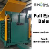 Full Eject Baler Machine