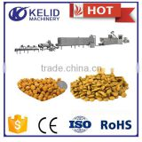 full automatic pet food making machine overseas engineers service dog food production line