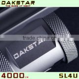 DAKSTAR New Arrival SL4U XML2 U2 4000LM 18650 High Power Aluminum Rechargeable Cool LED Flashlights Torches With CREE