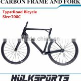 Top Quality Cheap 700C Carbon Road Bike Frame Chinese Carbon Bike Frame Made In China Carbon Fiber OEM Carbon Road Bike Frame