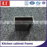 aluminium glass door frame MDF kitchen cabinet handle profile/cupboard door frame profile