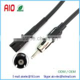 Jaso Male Plug to Raku Female Jack Aerial Antenna Mast Adapter Lead Cable for Smart Car Fortwo Roadster