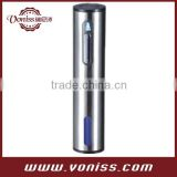 International standard approval high quality Electric Wine Opener in plastic body with power indicator and foil cutter