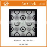 metal decorative clocks electronic digital wall clock