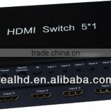 HDMI Video Switcher / 2 input 4 output hdmi switch splitter