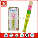 36 months kindergarten kids use eductional toy blister pakage wooden material musical instruments cheap price flute
