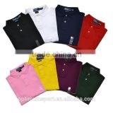 Factory New Design Mens 100% Cotton Polo T Shirt with Logo                                                                         Quality Choice