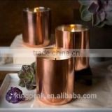 2015 New Product 13oz Mini copper candle container/Copper Candle Jar/christmas candle jars/Candle Holder