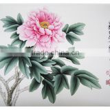 High Quanlity House Decoration handmade modern single flower Painting Chinese Paintings