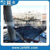 construction knotless or knotted polyester safety net safety netting for fall protection
