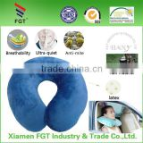 Newest Fashion foldable neck rest pillow with polystyrene beads