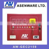 4 detection zones Automatic Gas Extinguisher Control Panel for fire suppression system