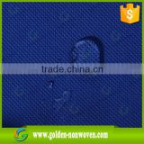 High quality eco blue color spunbond non woven mattress fabrics non-slip & chair covers cross nonwoven