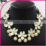 South Korea delicate clover necklace Fashion pearl necklace design