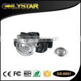 Onlystar GS-6001 waterproof outdoor camping 3*aaa battery headlamp 8 led head light                                                                         Quality Choice                                                     Most Popular