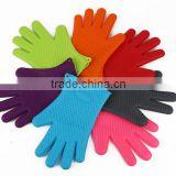 Best oven silicone BBQ gloves heat resistant cooking in the kitchen for cleaning