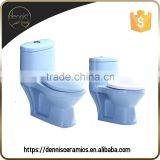 Dennis 1999E Sky Blue Kindergarten Colored Kid Toilet