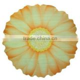 Anti-slip bath rug,Sun Flower Shape Bath Mat