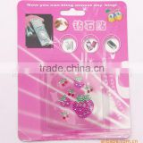 2014 hot sell crystal anti radiation mobile phone sticker                                                                         Quality Choice