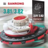 Sanrong 3.81 3.82 Daily Mechanical Refrigerator Timer, Programme Defrost Timer for Refrigeration