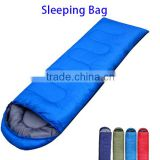 Nylon Fabric and 3 Season Type Inflatable Lounger Air Sleeping Lay Bag, Banana Sleeping Bag