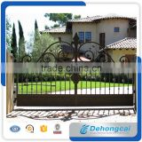 Main Entry iron door/ French Swing Open Style and Iron Material main iron gate