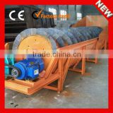 LX Spiral Sand Washing Machine Price can Separate the Soil and Foreign Material