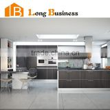 LB-DD1201 Modular Modern Floor Melamine Board Kitchen Cabinet Designs                                                                         Quality Choice