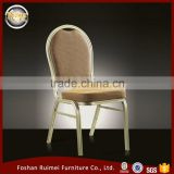 gold supplier restaurant modern leather brushed stainless steel dining chair                                                                         Quality Choice