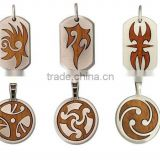 2013 fashion jewelry pendants charms 2013 om pendant wood pendant fashion