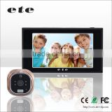 "4.7"" TFT LCD high definition ETE Motion detection sensor peephole door bell door eye hole camera"