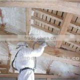 Polyether polyol for spray foam insulation