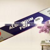 Supply Top Quality Customized Aluminum Foil roll widely used in cooking, freezing, baking and storing.