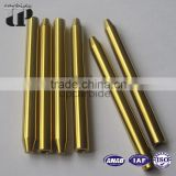 china top ten selling products price diameter OD6.35*ID0.5*76.2mm gold tungsten carbide water nozzle