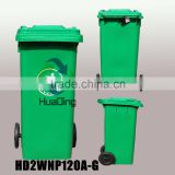 Plastic wheelie container 120L/240L/360L/660L/1100L plastic garbage bin with wheels, garbage can, plastic waste can for