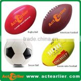 cheap custom logo rugby ball manufacturer from China