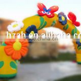 Beauty Inflatable Arch with Flowers and Butterfly