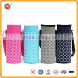 Water Drink Bottle Cooler Carrier Cover Sleeve Tote Bag Pouch Holder Strap for Custom Logo Cup Sleeve