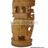 carving wood for-sale/wooden indian statues/antique wooden statue