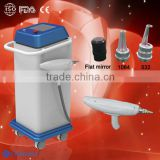 Easy work professional 1064nm 532nm Portable Q Switched Nd yag laser gun with tattoo removal beauty machine