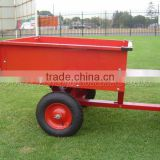 500lb ATV garden cart and small box cargo trailer