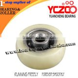 Small kitchen cabinet roller/sliding cabinet shutter door wheel