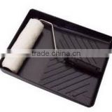 Plastic paint tray with paint roller