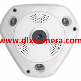 DLX-VA20 1280x1080 2Mp 360degree 3D Panoramic P2P VR IP WIFI camera with mic and speaker Max.128G SD