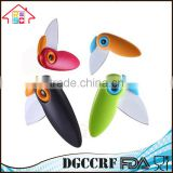 NBRSC Kitchen Fruit Vegetable Cutting Paring Mini Pocket Knife Folding Bird Shape Ceramic Knife Wholesale