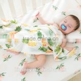 KS10603A Cute printed baby summer blanket cotton muslin baby swaddle blankets